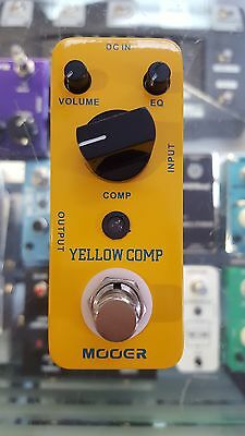 Mooer Yellow Comp Compressor Electric Guitar Effect Pedal