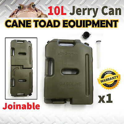 Joinable Jerry Can 10L Fuel Container Spare Container Heavy Duty