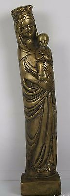 Madonna And Child. Bronze Sculpture. Dated In 1525. Germany. S.xvi?