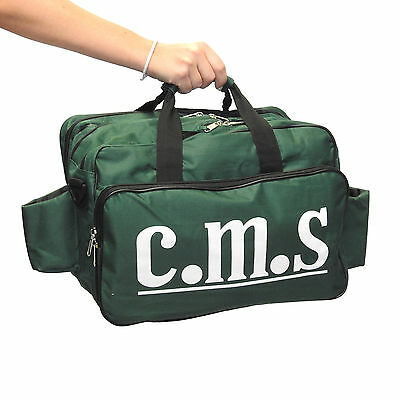 C.M.S Medical Sports Therapist Physio Professional Empty Run On First Aid Bag