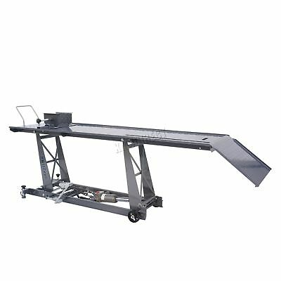New 800lb Hydraulic Motorbike Motorcycle Bike Service Shop Lift Ramp Table Bench
