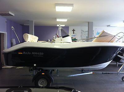 Motorboot Sportboot Boote RaJo MM450 open Honda BF 40 PS