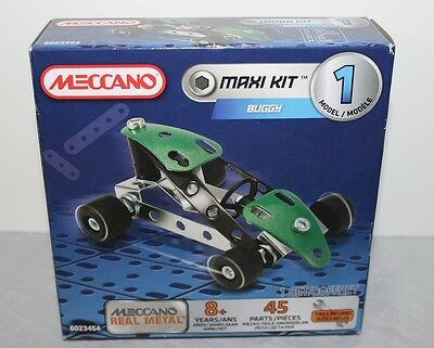 Meccano Maxi Kit Buggy Model 1 Brand New 6023454 Real Metal