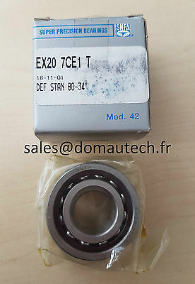 EX20 7CE1 T SNFA Super Precision Bearings / Roulements