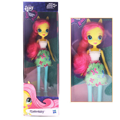 """9"""" My Little Pony Equestria Girls Fluttershy Figure Doll Toy Boxed Kid Gift Xmas"""