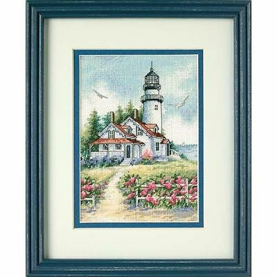 Dimensions - Counted Gold Cross Stitch Kit - Scenic Lighthouse - D65057