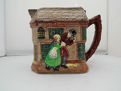 Royal Doulton Series Ware Relief Jug 'old Curiosity Shop' Dated 1948