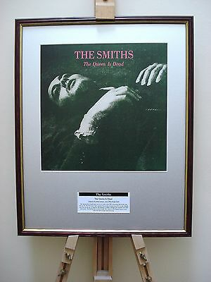The Smiths The Queen Is Dead Original Framed Album Cover Artwork