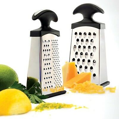 NORPRO GRIP-EZ MINI SLIM Stainless Steel Slim Grater W/3  NP365 N