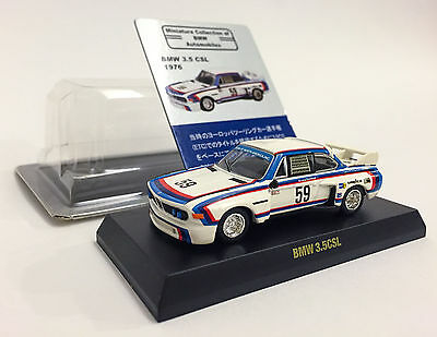 KYOSHO BMW 3.5 CSL #59 1976 /  1:64  / Minicar Collection of BMW