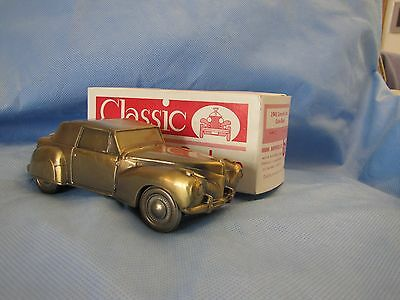 Banthrico 1941 Lincoln Continental Automobile  Bank