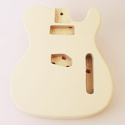 Olympic White ash guitar body for Telecaster Tele