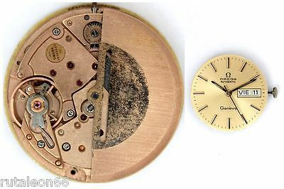 OMEGA 1022 original automatic watch movement working (4375)
