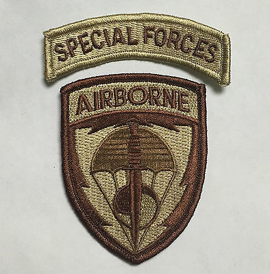 Us United States Special Forces Airborne Embroidered Patch-1666