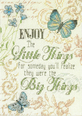 Dimensions - Mini Counted Cross Stitch Kit - Little Things - D70-65133