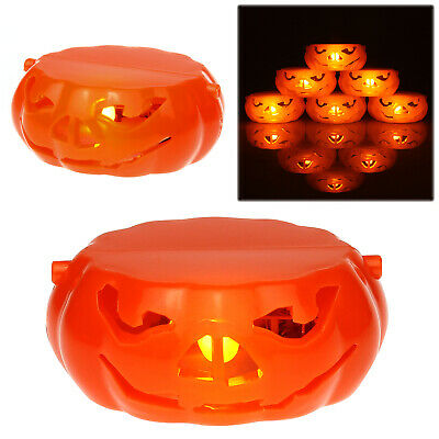 Halloween Pumpkin Carving CarveKing Kit 16 Designs + 5 Tools LED Light NEW