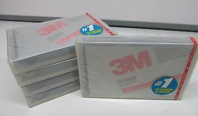 Lot of 5 New Sealed 3M DC 600A 60MB TAPE DATA CARTRIDGES