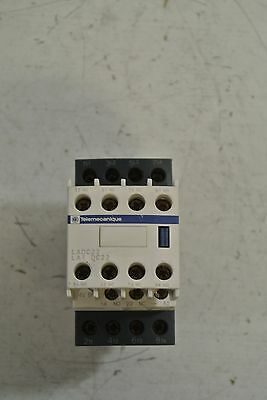 Telemecanique LC1DT25 with LADC22 24VDC Inductrial Contactor