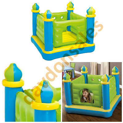 Bounce House Inflatable Castle Indoor Outdoor Moon Jump Intex Play Trampoline