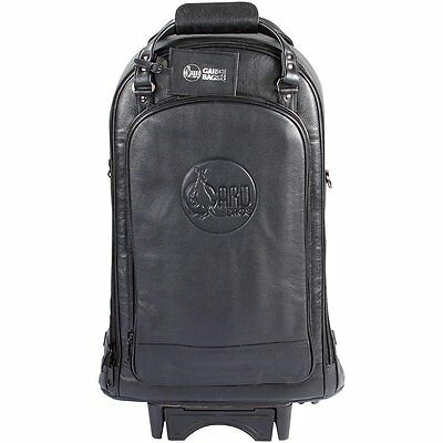 Bach/Gard Leather Triple Trumpet Wheelie Gig Bag BRAND NEW QuinnTheEskimo
