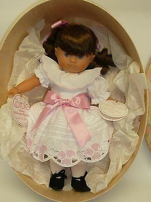 """Corolle Doll """"Heloise"""" Made in France for Marshall Fields LE 2000 MIB NRFB 1987"""
