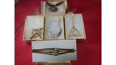 USA-5pc Harry Potter,Time Turner,Deathly Hallow,Necklace,earring,bracelet,watch