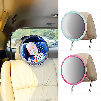 TFY New 10In-Sight Auto Mirror See-My-Baby Rear Facing Car Seat Safety Mirror