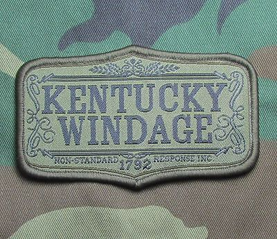 Kentucky Windage Army Morale Usa Badge Forest Patch With Velcro® Brand Fastener