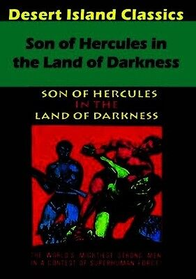 Son Of Hercules In The Land Of Darkness (2016, DVD NEUF)
