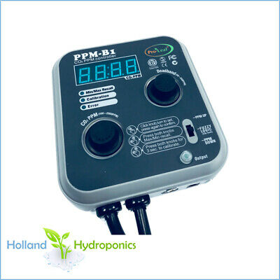 SUPERPRO CARBON-B1 CO2 PPM Controller Hydroponics Grow Room Ventilation