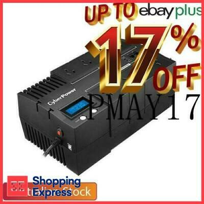 CyberPower BRICs LCD UPS 850VA Power Supply Surge Protector 8 Way Power Board