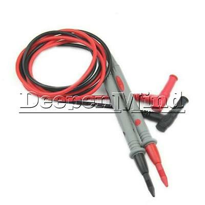 Digital Multimeter Multi Meter Test Electric Lead Probe Wire Pen Cable 10A 1000V
