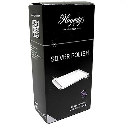 Hagerty Silver Polish 250ml Jewellery Cleaner Sterling Silverplate - SH291A