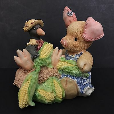 """1994 """"This Little Piggy"""" Figurine, Enesco Designed by Mary Rhyner Registered"""
