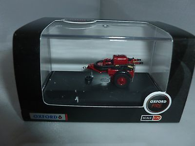 Oxford Diecast Fire Engine Red Coventry Climax Trailer Pump