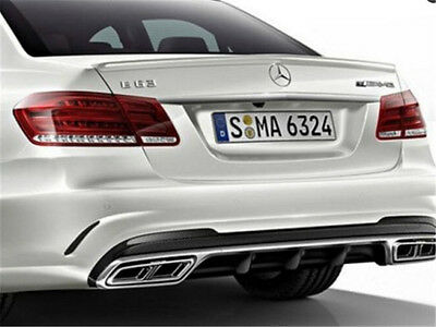 Rear Exhaust Tips Muffler Pipe for Mercedes Benz W212 E63 AMG 2014-2016