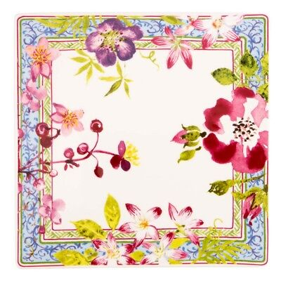 NEW Gien Millefleurs Small Square Plate