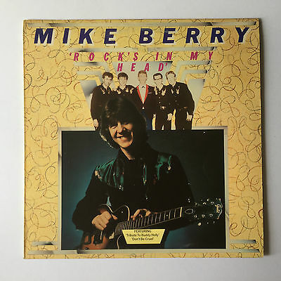 Mike Berry - Rock's In My Head' - 1976 England - Polydor - 2383 392 - Vinyl LP