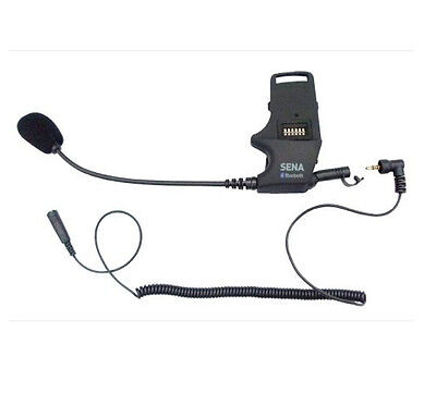 Sena Helmet Clamp Kit For Earbuds With Fixed Boom-Mic Smh-A0303