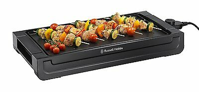 Russell Hobbs 22550 Occasions Removable Hot Plate Griddle Home Table Grill Black