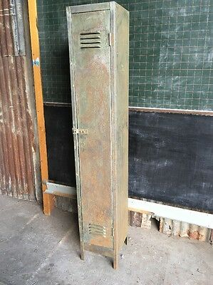 Industrial Metal Vintage Mesh Tall Lockers Interior Design Stripped Rustic