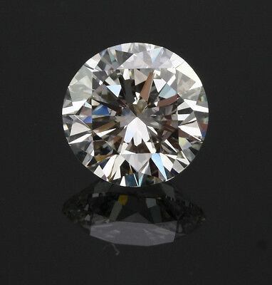 0.75 ct Round Synthetic Crystal Carbon Stone. Outshines Diamond and Moissanite!