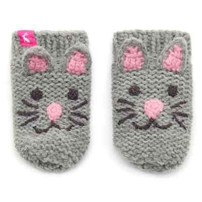 Joules Baby Girl Mittens Cat BabyChumGLVG