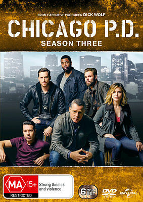 Chicago P.D.: Season 3  - DVD - NEW Region 4, 2