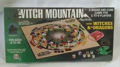 Vintage Witch Mountain Witches & Dragons Board Game NEW SEALED! 1983