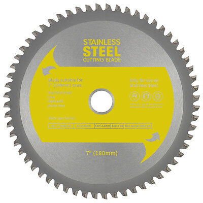"TCT Stainless Steel Cutting Circular Saw Blade 7"" (180mm) 9"" (230mm) 14"" (355mm)"