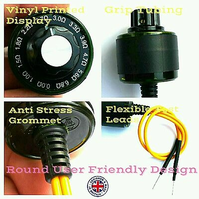 Airbag Bypass Resistor Finder Diagnostic Ohms 1 2 3 4 5 6 7 8 9 0 . Ohm Ohms