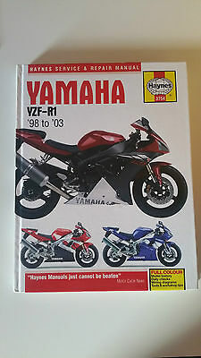 Yamaha YZF-R1 '98-'03 Haynes Service and Repair Manual