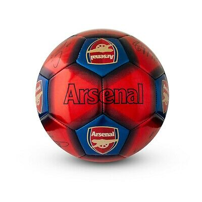 Arsenal Fc Gunners Signature Football Adult Size 5 Official New Xmas Gift
