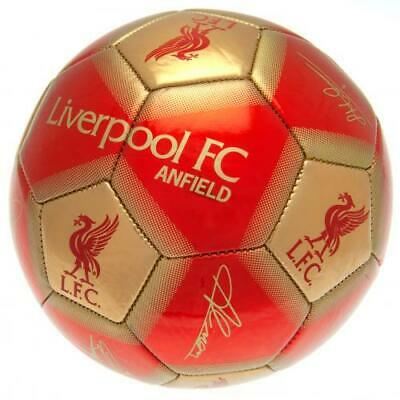 Liverpool Fc Signature Football Adult Size 5 New Xmas Christmas Gift